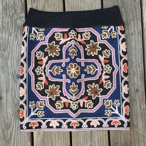 Zara 🐫 embroidered Moroccan skirt